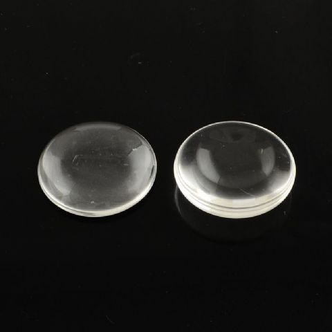 Glass Cabochons - Round 40mm - 10 Pieces